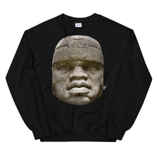 Load image into Gallery viewer, Olmec Head Unisex Sweatshirt