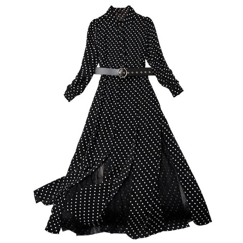 Robe à Pois#robe pin up pois sandro#Robe à Pois<br> Pin Up Sandro Bardot - coccinelle-paradis