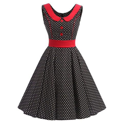 robe pretty woman a pois