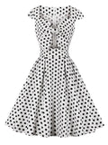 Robe à Pois##Robe à Pois<br> Glamour Swing Rockabilly - coccinelle-paradis