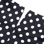 robe a pois courte pull manches courte motif