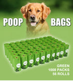 Poop Bags Earth-Friendly 60/56 Rolls.