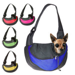 Puppy Carrier Outdoor Shoulder Bag Mesh Oxford.