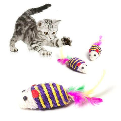 Funny False Mouse Toys for Cats.