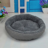 Large/Small Round Soft Bed Breathable Warm