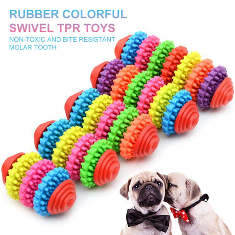 Durable Teething Rubber Chew Toys Dogs/Cats.