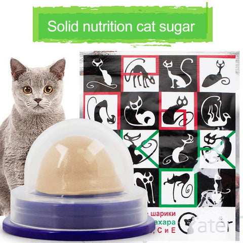 Catnip Sugar Candy. Healthy Gel Energy Ball.