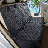 Dog Carrier. Rear Car Seat Waterproof Cover.