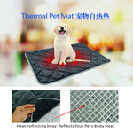 Self Warming  Thermal Bed  Cozy Fleece Padding.