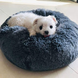 Plush Super Soft Round Dog/Cat Bed.