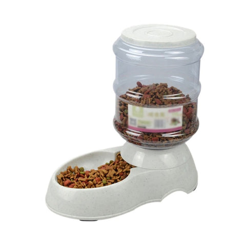 Pet Automatic Feeder Dog Cat Drinking Bowl