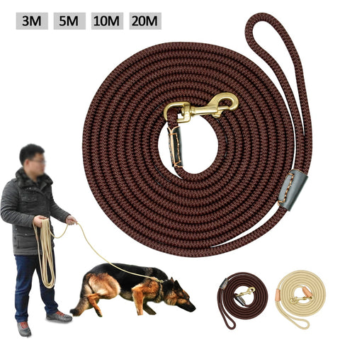 Durable Dog Tracking Nylon Rope Leashes/3 -20M