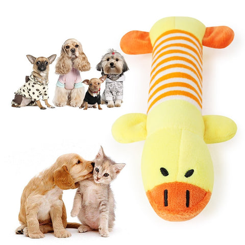 Dog/Cat Funny Fleece Durable Squeaky Toys