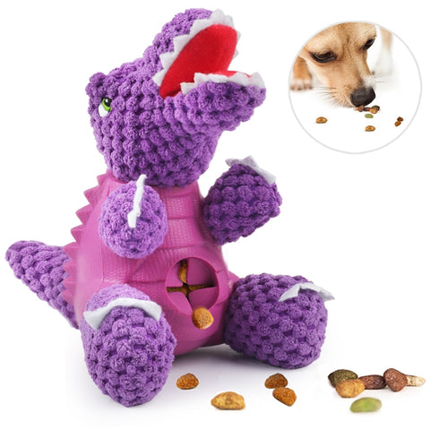Dog Feeders Interactive dinosaur Feeding Toy