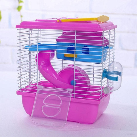 Hamster/Small Animal Cage/Cottage, Transparent Skylight.