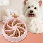 Slow Feeder Dog Food Bowls combats obesity.