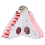 Small Animal Entertainment Toy, Wooden Game House.