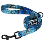 Printed Nylon Dog Collar - with/without leash