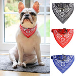 Dogs/Cats Adjustable Bandanas/ Collar / Paisley Pattern.