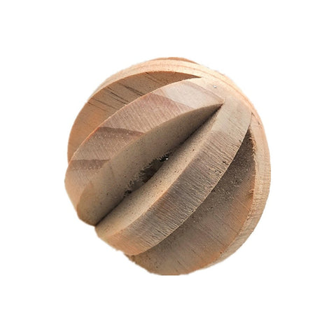 Natural Wooden Chew Toys for Small Animals.