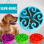 Colorful Slow Feeder Dog/Cat Bowl. Food/Water.