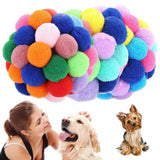 Kitten/Puppy Plush Bouncy Ball, Bells Toys