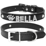 Personalized Rhinestone Dog Collars Suitable Smaller Dogs