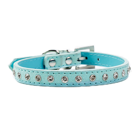 Collar For Small Dogs Puppies Cat Pet Supplies Product Adjustable Collars Crystal Diamond Dog Collar Pet Accessories