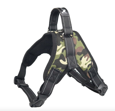 Dog Harness Vest Adjustable Padded Extra Large- Small