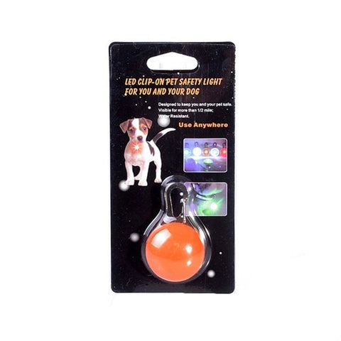 Dog/Cat Collar Clip-on Waterproof LED Light,