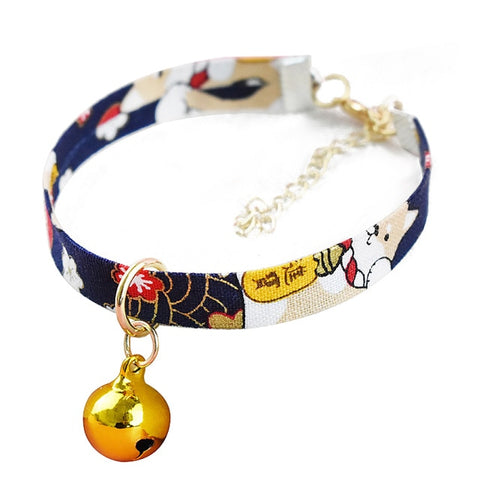 Handwork Japanese Style Cats/Dogs Printed Necklace.