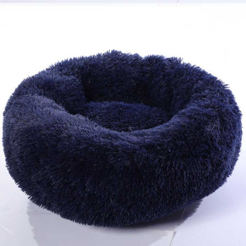 Anti Anxiety Dog Bed Washable Long Plush Dog Kennel Deep Sleep Dog House Velvet Mats Sofa For Dog Comfy Calming Dog Bed
