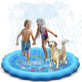68 inch Sprinkle and Splash Play Mat - Dogs/Kids