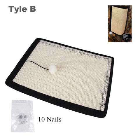 Cat Scratch Board, Sisal Furniture Protector Pad.