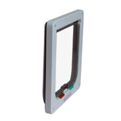 4 Ways Lockable Dog /Cat Door Security Flap