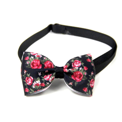 Fashionable adjustable Bow Tie Dog/Cat Collar