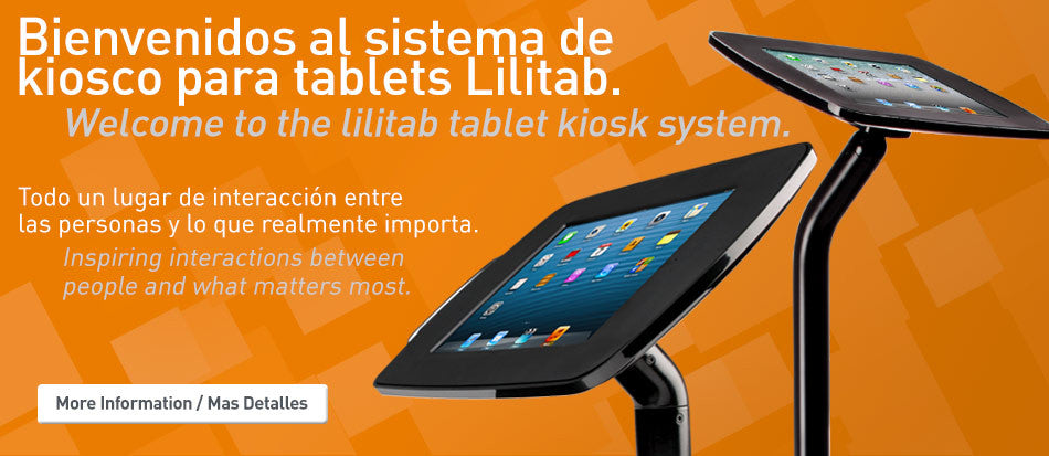 welcome to the lilitab tablet kiosk system