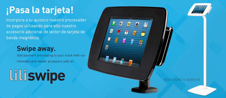 Magdock enables assisted selling on your iPad kiosk