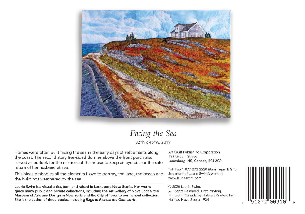 Facing the Sea Greeting Card