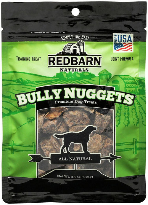 Redbarn Bully Nuggets Dog Treats, 3.9 Ounce, 24 Pack