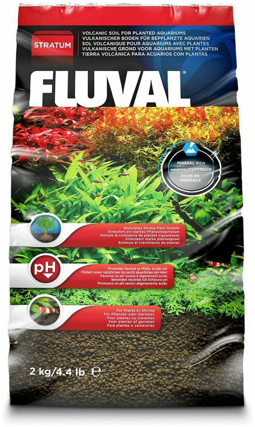 Fluval Plant and Shrimp Stratum, 4.4 Pound, 5 Pack
