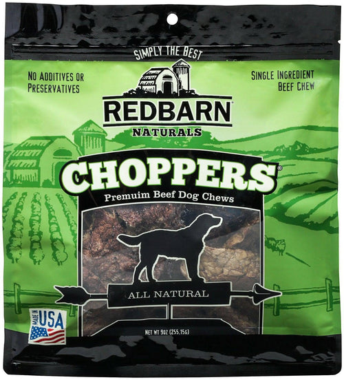 Redbarn Beef Lung Choppers Dog Chew, 9 Ounce, 16 Pack