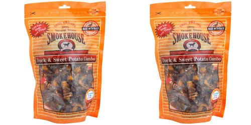 Smokehouse Duck & Sweet Potato Dog Treats, 16 Ounce, 2 Pack
