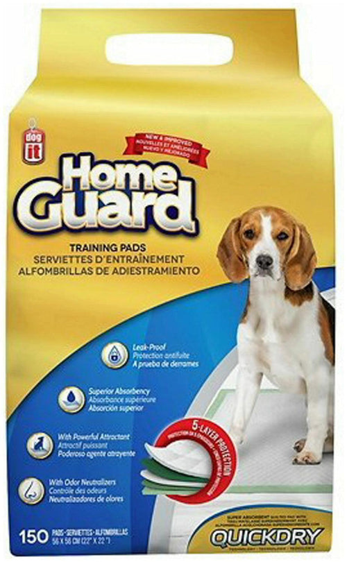 Dogit Home Guard Training Pads, Medium, 150 Count