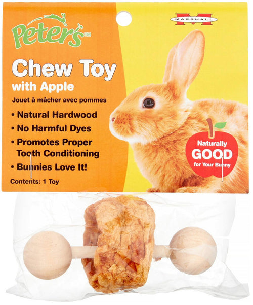 Peter's Chew Toy with Apple for Small Animals
