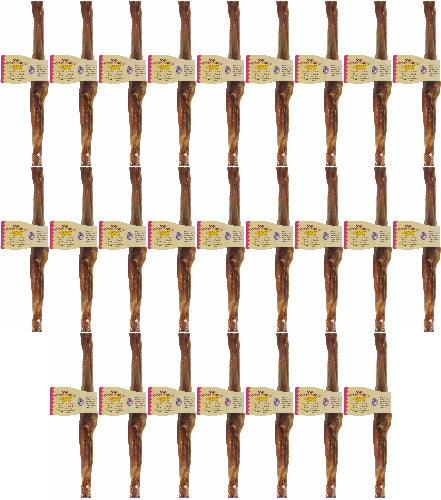 Jones Natural Chews Bully Stick for Dogs, Large, 11-12 Inch, 25 Pack