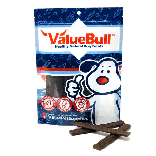 ValueBull USA Beef Liver Taffy Dog Treats, 10 Count