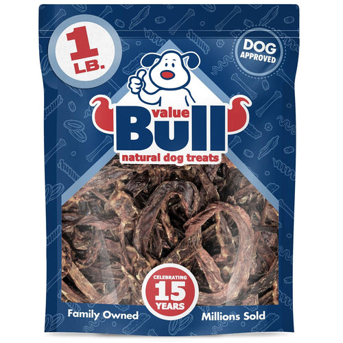 ValueBull USA Jerky Pretzel Dog Chews, 6 Pound