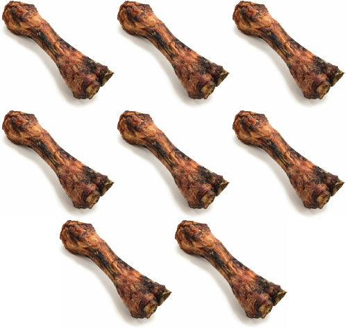 ValueBone USA Smoked Beef Shin Bones, All Natural Dog Chews, 40 Count