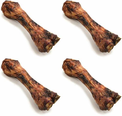 ValueBone USA Smoked Beef Shin Bones, All Natural Dog Chews, 20 Count